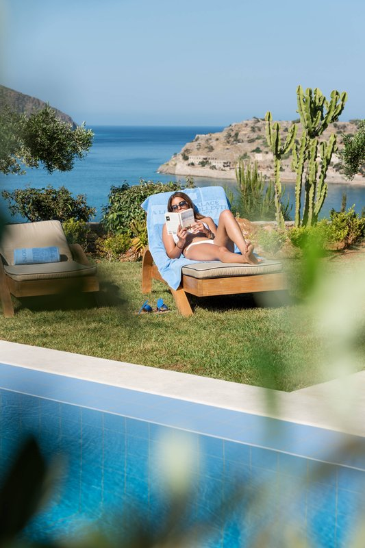 Blue Palace; a Luxury Collection Hotel-Royal Blue Villa Private Pool<br/>Image from Leonardo