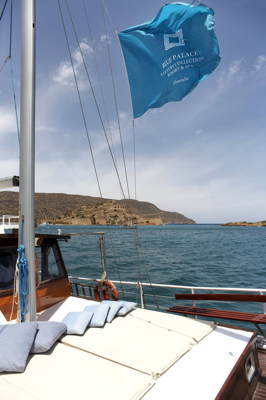 Blue Palace; a Luxury Collection Hotel-Private Boat Experience<br/>Image from Leonardo