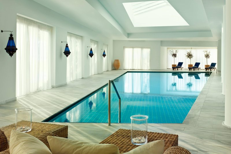 Blue Palace; a Luxury Collection Hotel-The Elounda Spa & Thalassotherapy Indoor Pool<br/>Image from Leonardo