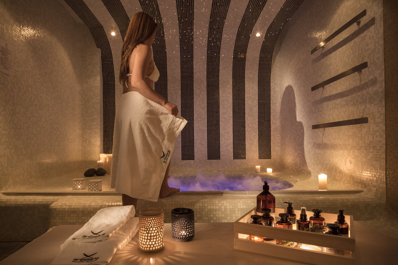 Aressana Spa Hotel & Suites-Hot tub<br/>Image from Leonardo