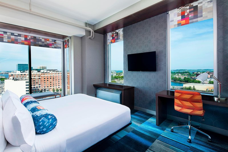 Aloft Boston Seaport-King Guest Room<br/>Image from Leonardo