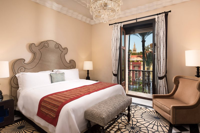 Hotel Alfonso XIII; a Luxury Collection Hotel Seville-Deluxe Suite<br/>Image from Leonardo