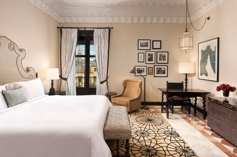 Hotel Alfonso XIII; a Luxury Collection Hotel Seville-Executive Suite - Bedroom<br/>Image from Leonardo