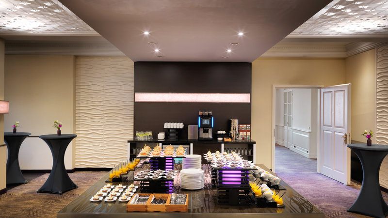 Crowne Plaza Heidelberg City Centre-Pre-function area with coffee break set-up<br/>Image from Leonardo