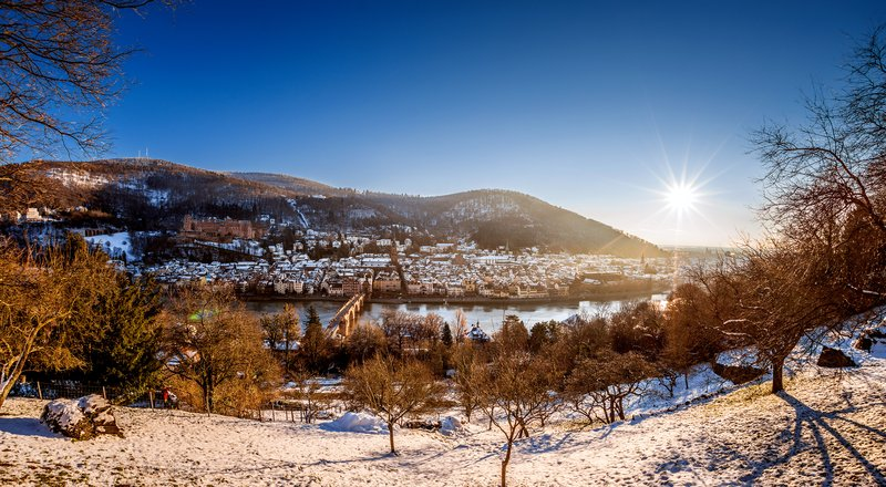 Crowne Plaza Heidelberg City Centre-View from the famous philosophers walk<br/>Image from Leonardo