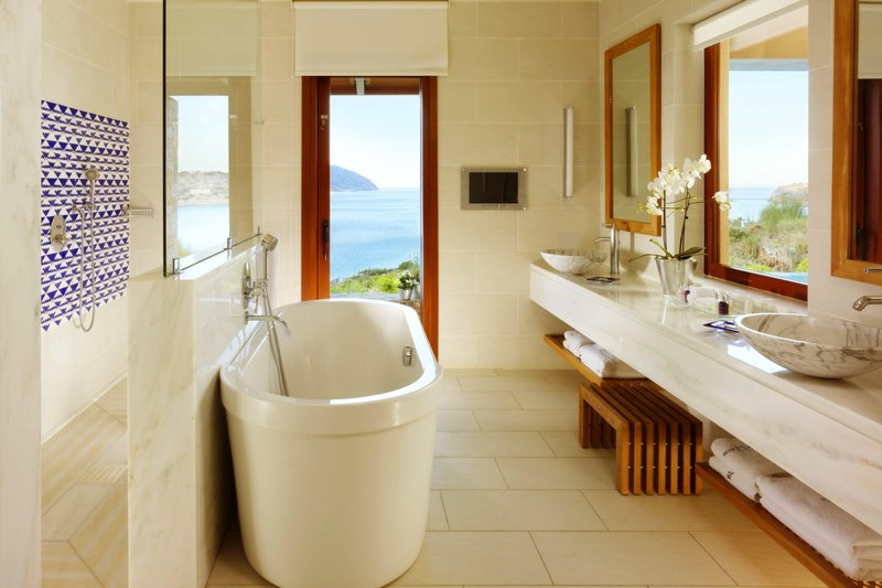 Blue Palace; a Luxury Collection Hotel-Island Luxury Suite - Bathroom<br/>Image from Leonardo
