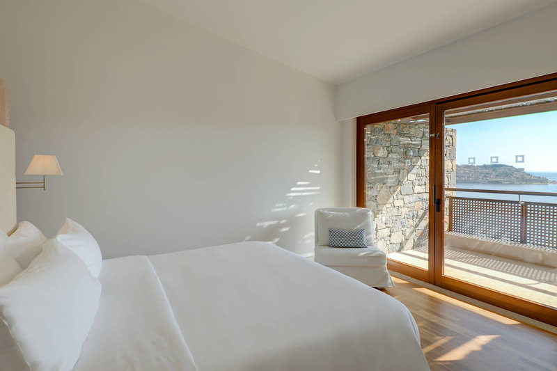 Blue Palace; a Luxury Collection Hotel-Mediterranean Maisonette Suite - Bedroom<br/>Image from Leonardo