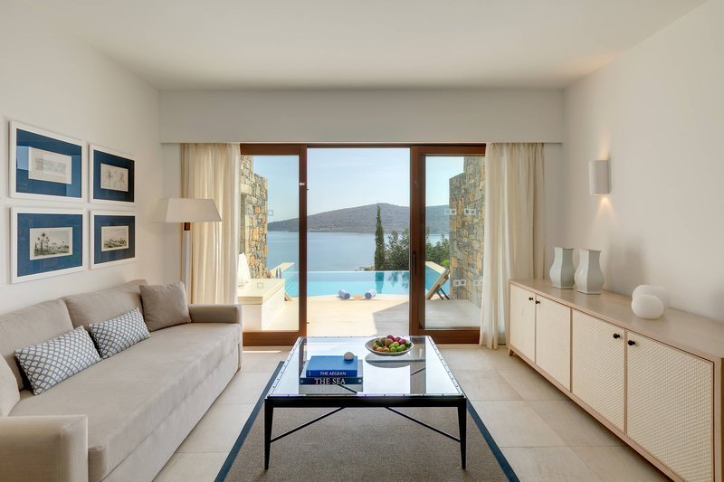 Blue Palace; a Luxury Collection Hotel-Mediterranean Maisonette Suite with Private Pool<br/>Image from Leonardo