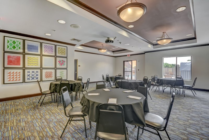 Holiday Inn Express & Suites Tampa USF Busch Gardens-Our meeting space is great for parties and small meetings!<br/>Image from Leonardo