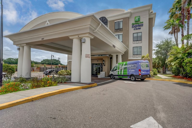 Holiday Inn Express & Suites Tampa USF Busch Gardens-Hotel Exterior<br/>Image from Leonardo
