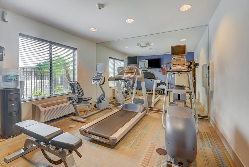 Holiday Inn Express & Suites Tampa USF Busch Gardens-Our state of the art fitness center will keep you on your game!<br/>Image from Leonardo