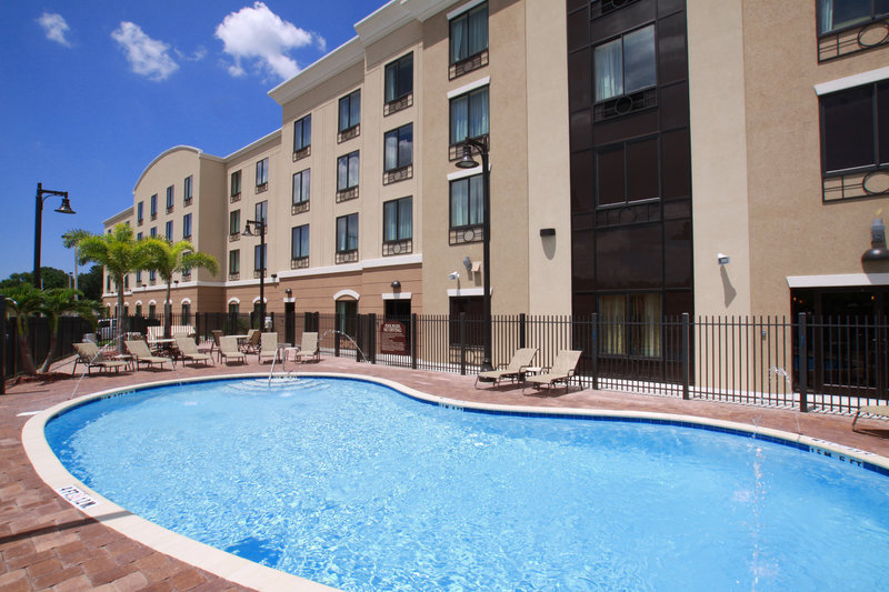 Holiday Inn Express & Suites Tampa USF Busch Gardens-Catch some Florida rays at our renovated swimming pool!<br/>Image from Leonardo
