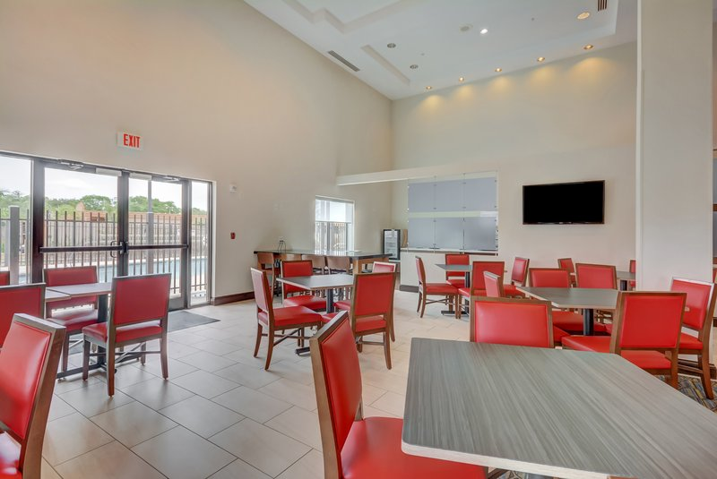 Holiday Inn Express & Suites Tampa USF Busch Gardens-Breakfast Area<br/>Image from Leonardo