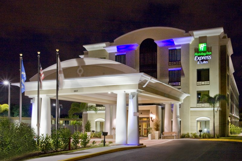 Holiday Inn Express & Suites Tampa USF Busch Gardens-USF is a short drive away from our hotel.<br/>Image from Leonardo