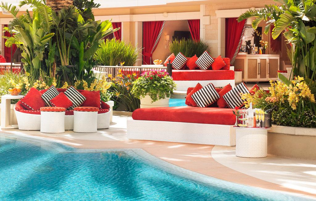Wynn Las Vegas - Encore Beach Club - Daybed <br/>Image from Leonardo