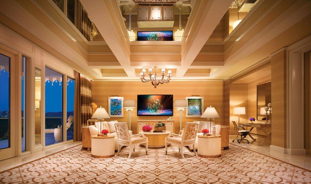 Wynn Las Vegas - Wynn - Fairway Villa Living Room <br/>Image from Leonardo