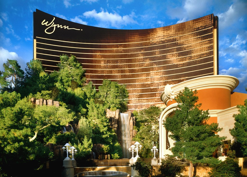 Wynn Las Vegas - Wynn - Sunlit Exterior <br/>Image from Leonardo