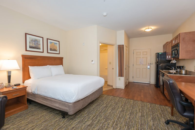 Candlewood Suites Mobile-Downtown-Comfortable Bedding in a Spacious Studio Suite<br/>Image from Leonardo