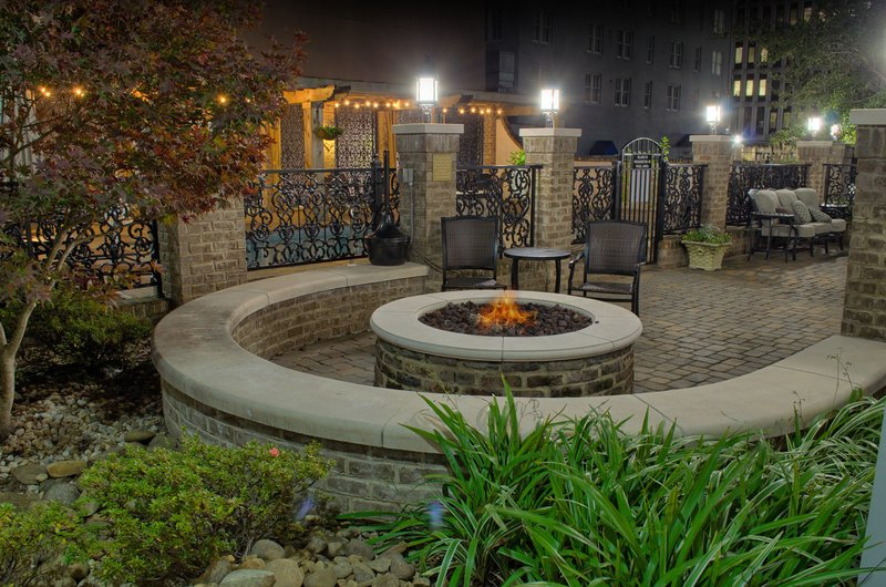 Candlewood Suites Mobile-Downtown-Relax and socialize in the outdoor gathering area<br/>Image from Leonardo