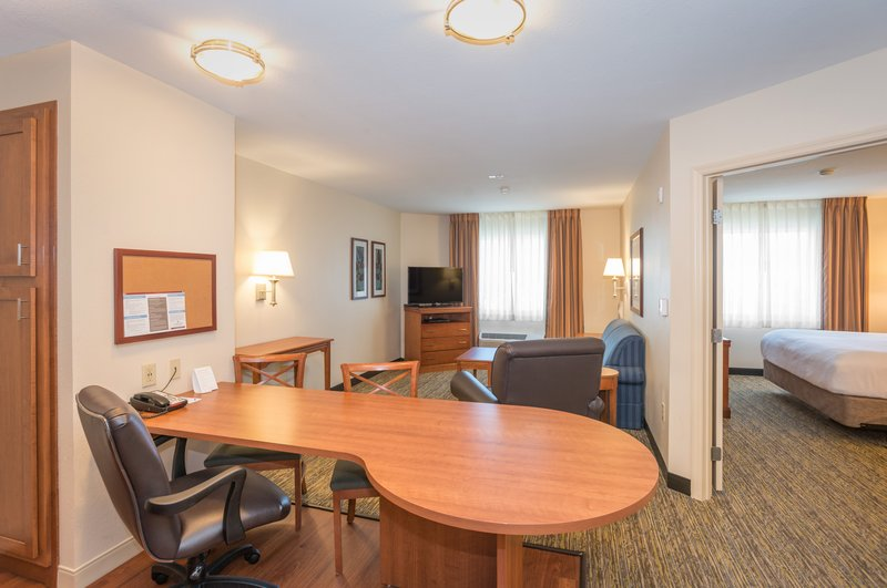 Candlewood Suites Mobile-Downtown-Suites have separate living room and bedroom for your comfort<br/>Image from Leonardo