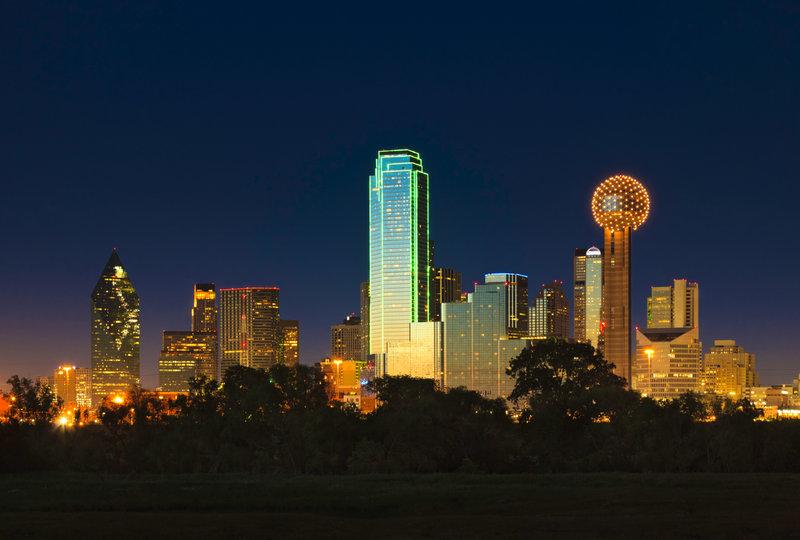 Crowne Plaza Dallas Market Center-Dallas Skyline<br/>Image from Leonardo