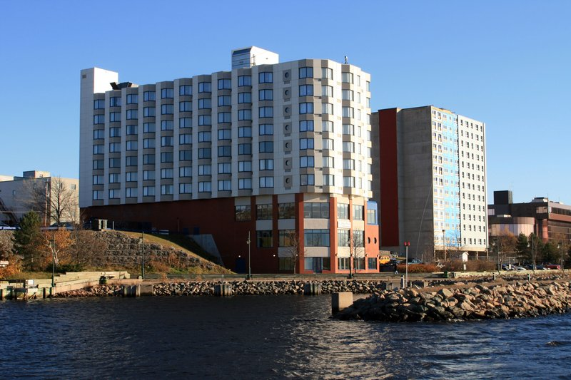 Holiday Inn Sydney - Waterfront-Water view of Hotel<br/>Image from Leonardo
