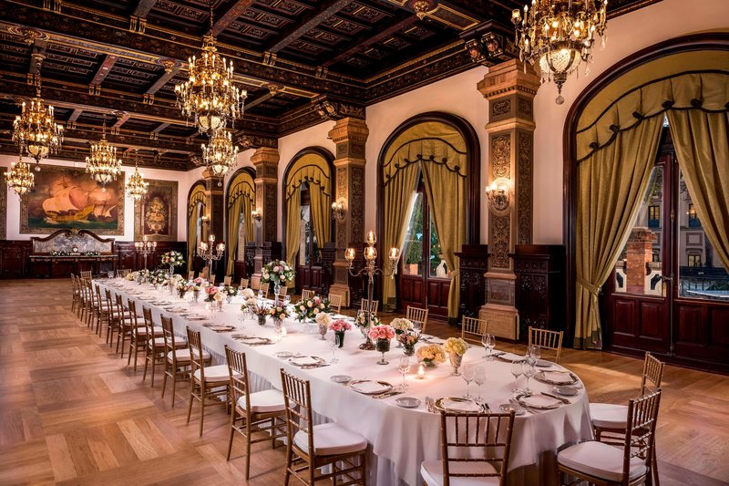 Hotel Alfonso XIII; a Luxury Collection Hotel Seville-Real Meeting Room<br/>Image from Leonardo