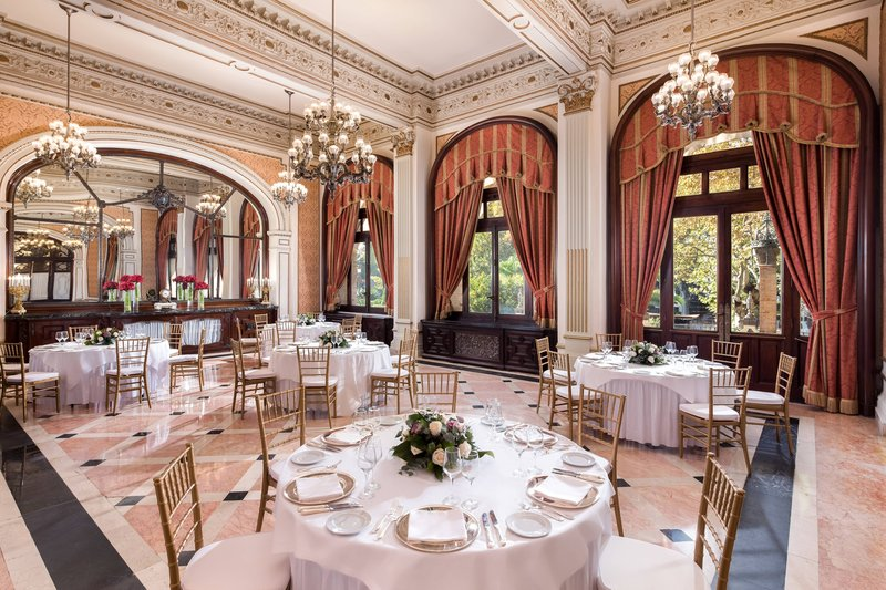 Hotel Alfonso XIII; a Luxury Collection Hotel Seville-Cartuja Meeting Room - Banquet Setup<br/>Image from Leonardo
