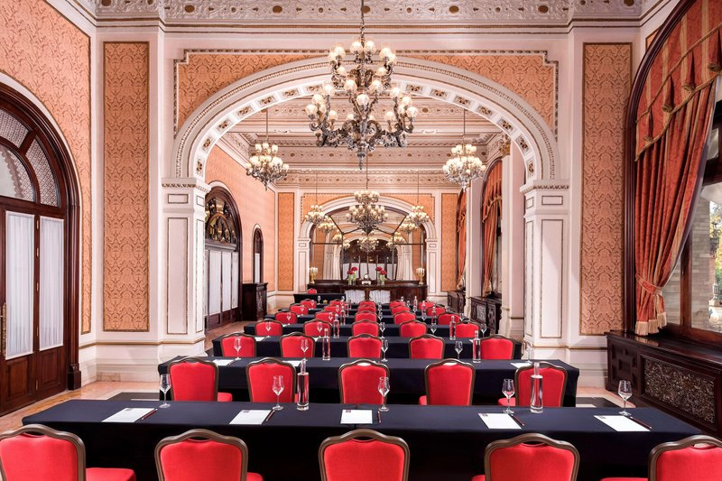 Hotel Alfonso XIII; a Luxury Collection Hotel Seville-Cartuja Meeting Room - Classroom Setup<br/>Image from Leonardo