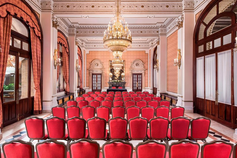 Hotel Alfonso XIII; a Luxury Collection Hotel Seville-Andalucía Meeting Room - Theater Setup<br/>Image from Leonardo