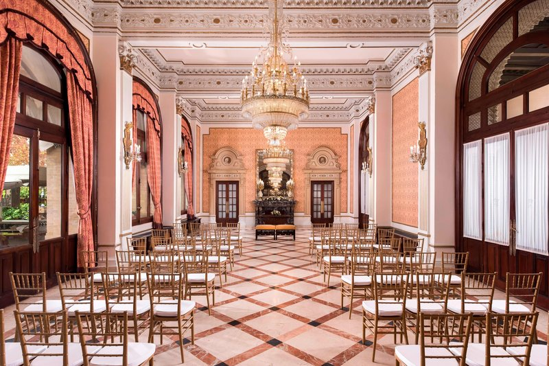 Hotel Alfonso XIII; a Luxury Collection Hotel Seville-Andalucía Meeting Room - Classroom Setup<br/>Image from Leonardo
