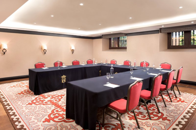 Hotel Alfonso XIII; a Luxury Collection Hotel Seville-San Telmo Boardroom<br/>Image from Leonardo
