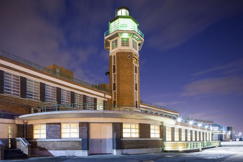 Crowne Plaza Liverpool John Lennon Airport-Original Control Tower<br/>Image from Leonardo