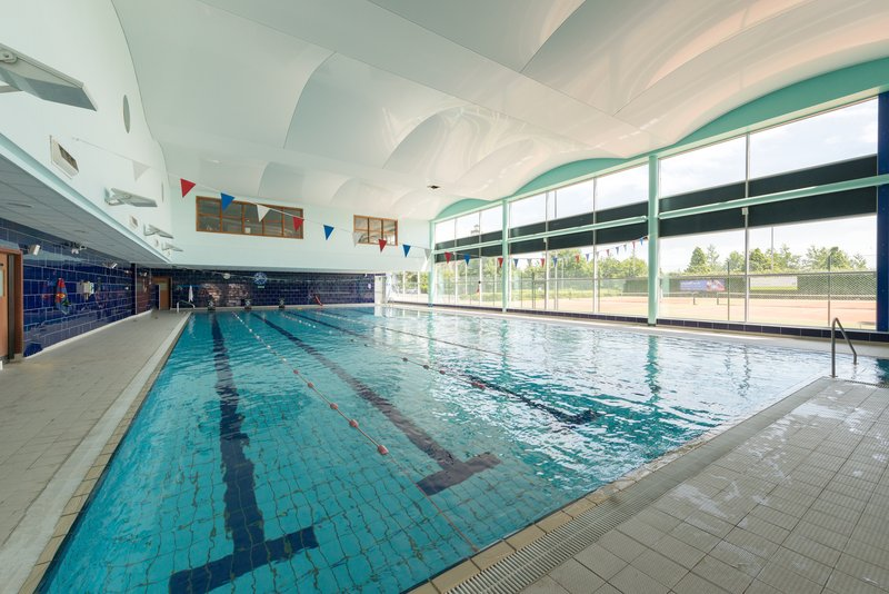 Crowne Plaza Liverpool John Lennon Airport-Swimming Pool<br/>Image from Leonardo