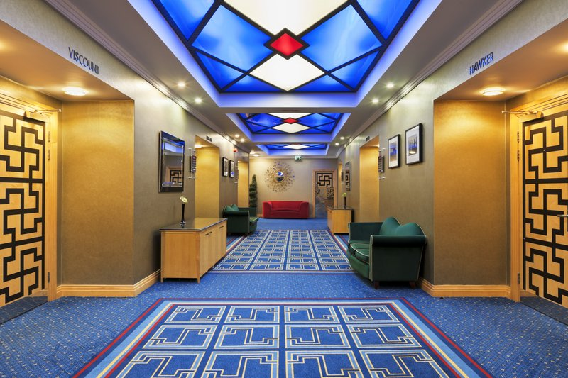 Crowne Plaza Liverpool John Lennon Airport-Reception Area<br/>Image from Leonardo
