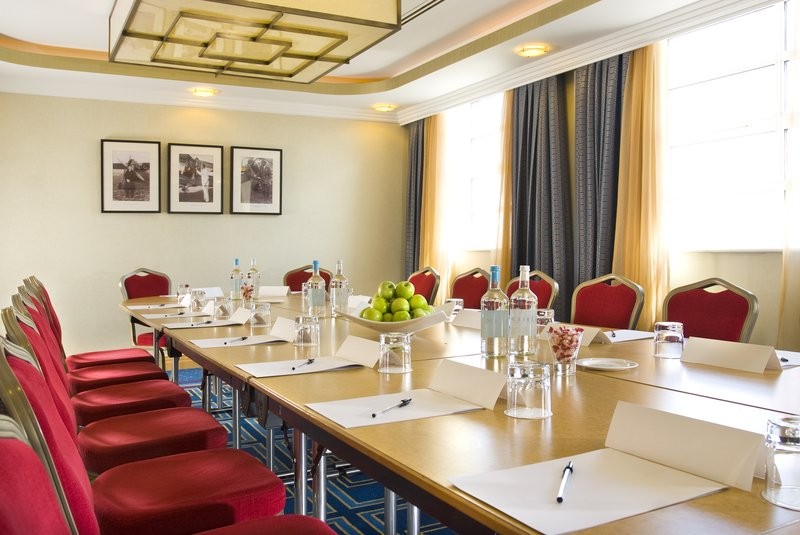 Crowne Plaza Liverpool John Lennon Airport-One of our 12 meeting rooms shown as Boardroom style<br/>Image from Leonardo