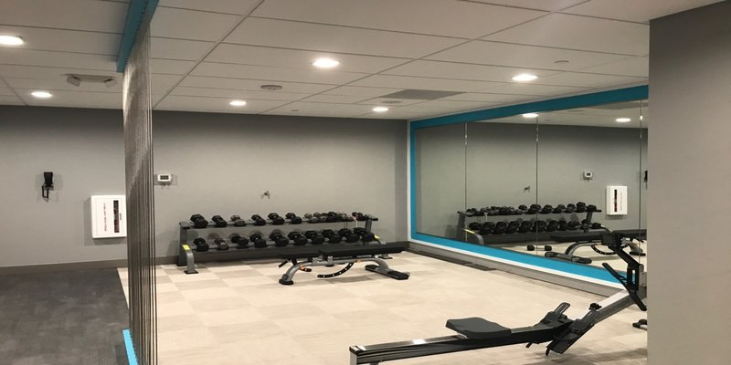 Crowne Plaza Milwaukee Airport-24/7 Fitness Center with New Precor Equip. (opened on 6/22/2017)<br/>Image from Leonardo