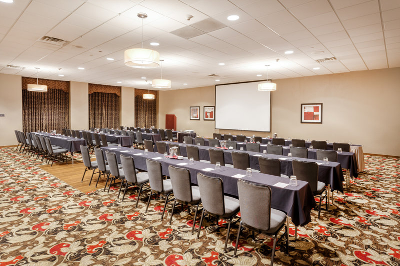 Crowne Plaza Milwaukee Airport-Sabre Meeting Room <br/>Image from Leonardo
