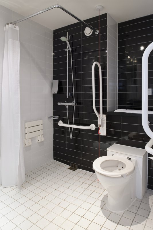 Holiday Inn Express Leeds East-Guest Bathroom<br/>Image from Leonardo