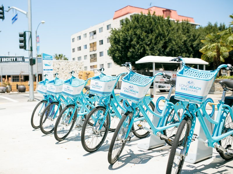 Holiday Inn Long Beach Downtown Area-Rent a bike and cruise around downtown long beach<br/>Image from Leonardo