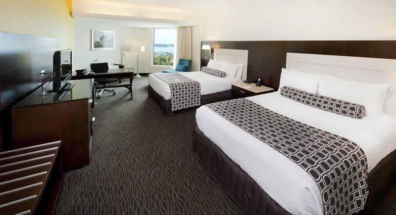 Crowne Plaza Santo Domingo-2 DBL Beds Deluxe Oceanview Room<br/>Image from Leonardo
