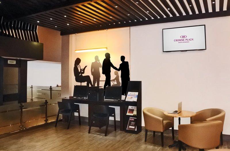 Crowne Plaza Santo Domingo-Business Center Area<br/>Image from Leonardo