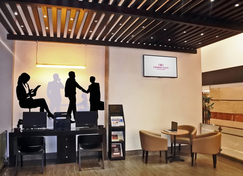 Crowne Plaza Santo Domingo-Complete your tasks or send an email in our Business Center<br/>Image from Leonardo