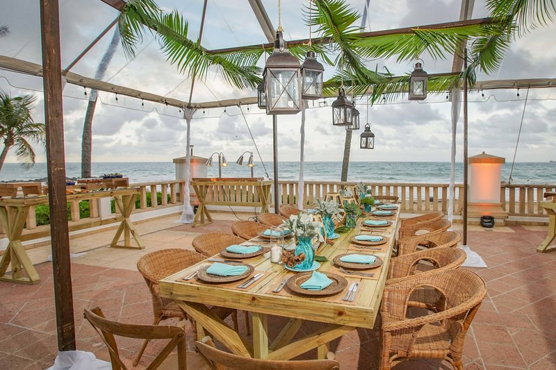 Marriott San Juan Resort - Ocean Terrace Event Set-up <br/>Image from Leonardo