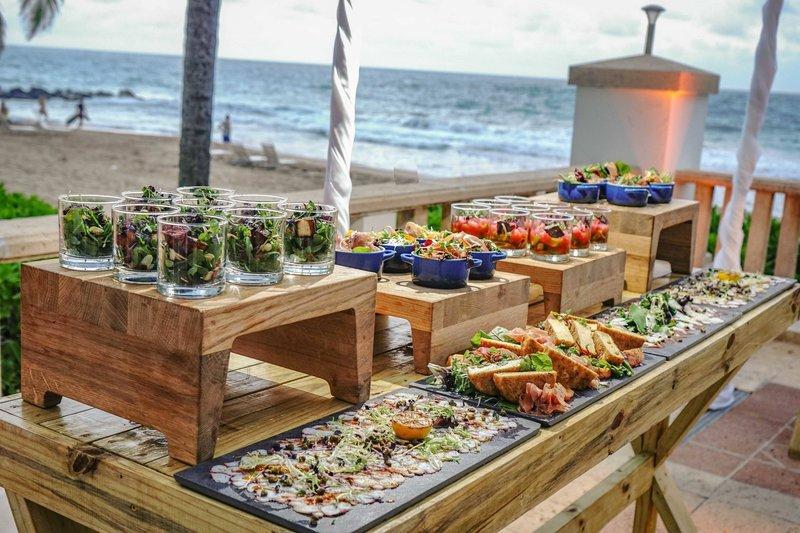 Marriott San Juan Resort - Ocean Terrace - Food Setup <br/>Image from Leonardo