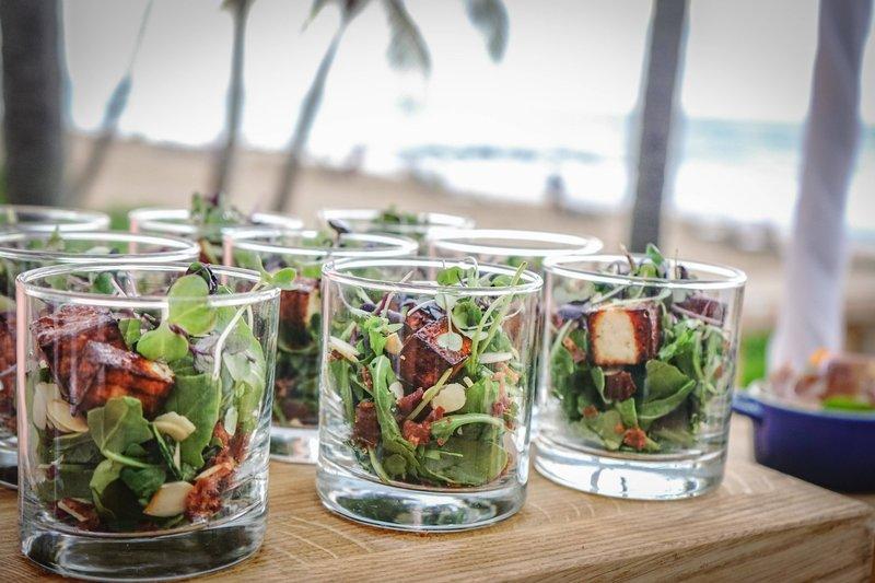 Marriott San Juan Resort - Catering - Mini Salad <br/>Image from Leonardo