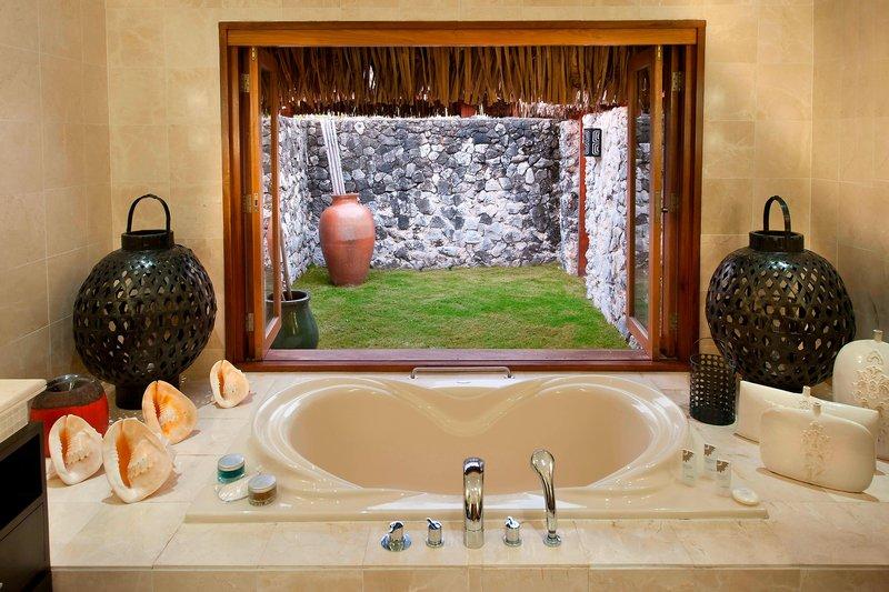 St Regis Resort Bora Bora - Royal Estate - Master Guest Bathroom <br/>Image from Leonardo