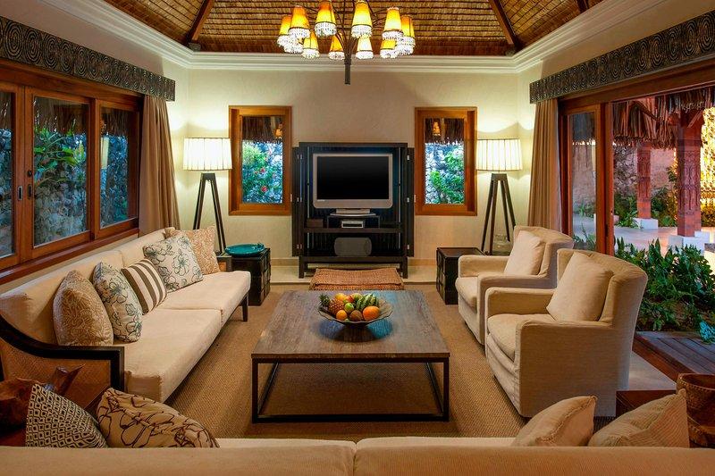 St Regis Resort Bora Bora - Royal Estate - Living Guest Room <br/>Image from Leonardo