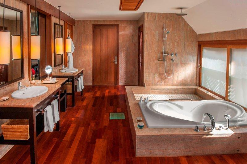 St Regis Resort Bora Bora - Guest Bathroom <br/>Image from Leonardo