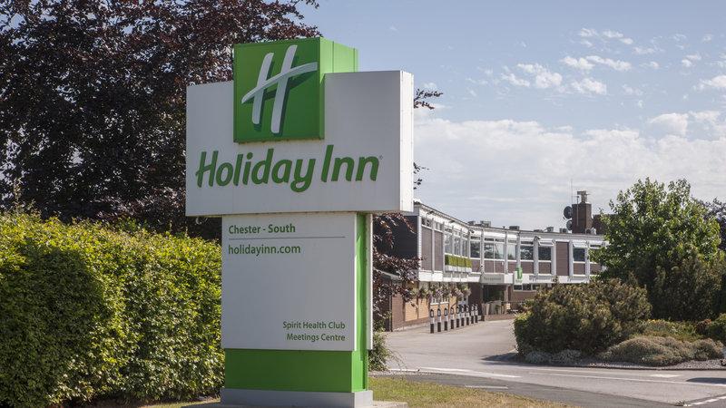 Holiday Inn Chester South Hotel-Car Park Entrance<br/>Image from Leonardo
